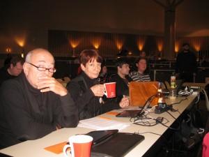 Lutz, Sabine, Dennis und Pascal auf dem LPT